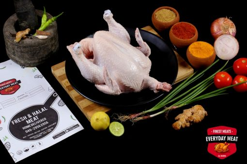 Buy Chicken Whole with Skin Everyday Meat